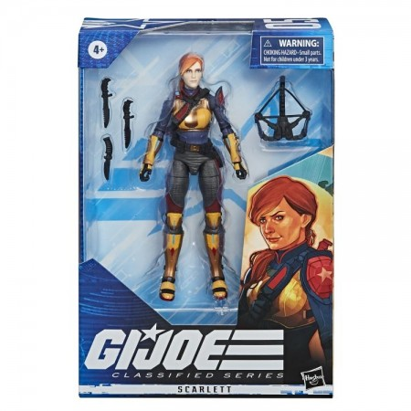 G.I. Joe Classified Scarlett Action Figure