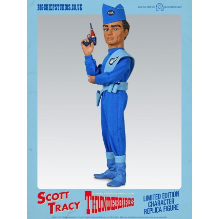 Scott Tracy Thunderbirds Character Replica Figures by BIG Chief Studios