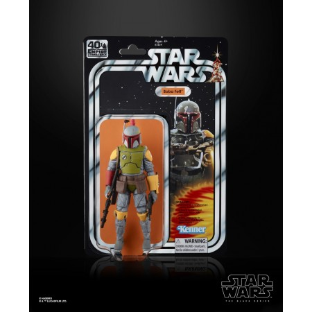 Star Wars 40th Anniversary SDCC Boba Fett EU CARD