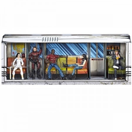 SDCC Marvel Leyendas de Netflix Defenders Rail Authority Box Set