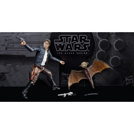 SDCC 2018 Star Wars Black Series Han Solo & Mynock NON MINT