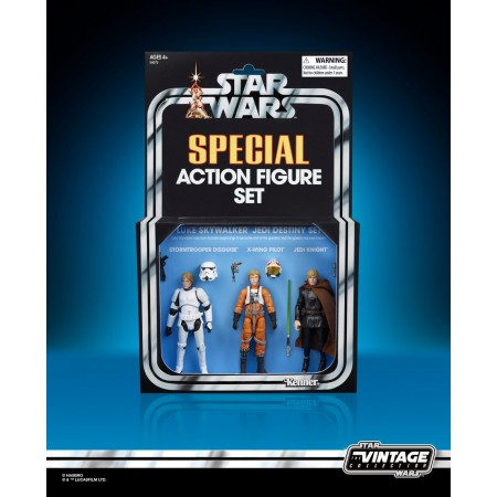 Star Wars Vintage Collection SDCC Luke Skywalker 3 Pack
