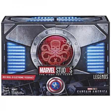 SDCC 2018 Marvel Legends Red Skull & Tesseract