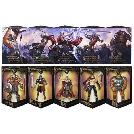 Marvel Legends SDCC Thor Battle For Asgard Box Set