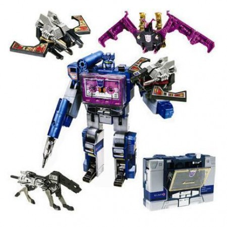 Transformers SDCC Reissue Soundwave & Tapes