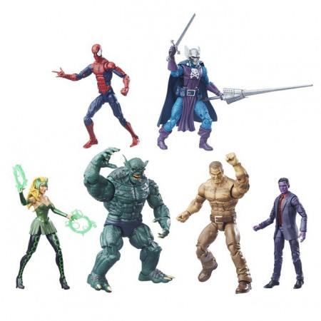 Marvel Legends SDCC el conjunto caja de balsa