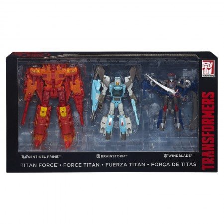 Transformers Titan Force SDCC Exclusive 3 Pack