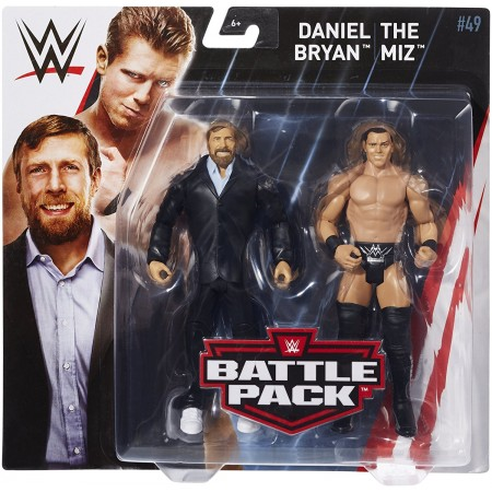 WWE Series 49 Battle Pack The Miz & Daniel Bryan