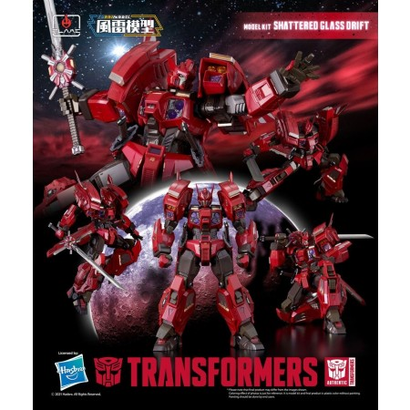Flame Toys Transformers Furai Model Shattered Glass Drift Model Kit