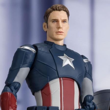 Avengers Endgame S.H.Figuarts Captain America ( Cap Vs Cap ) Action Figure