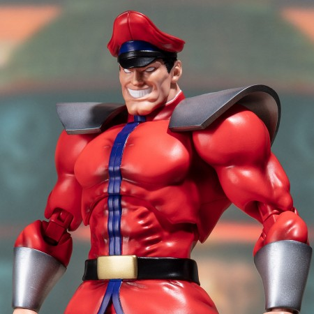 S.H FIGUARTS STREET FIGHTER M.BISON TAMASHII WEB EXCLUSIVE