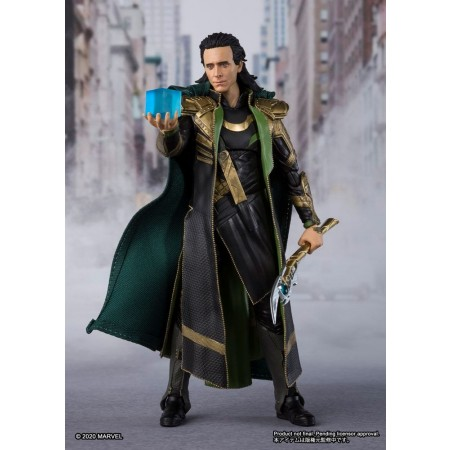 Avengers Endgame S.H.Figuarts Loki Action Figure