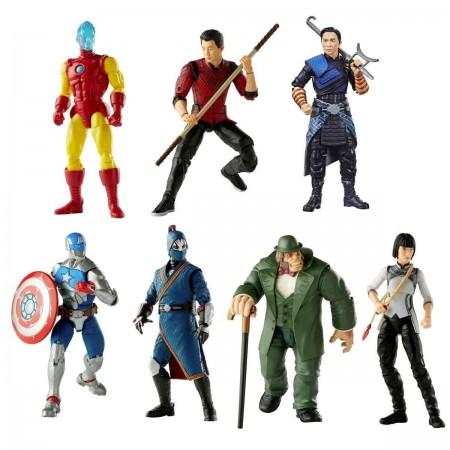 Marvel Legends Shang-Chi Mr Hyde BAF Wave Set of 6