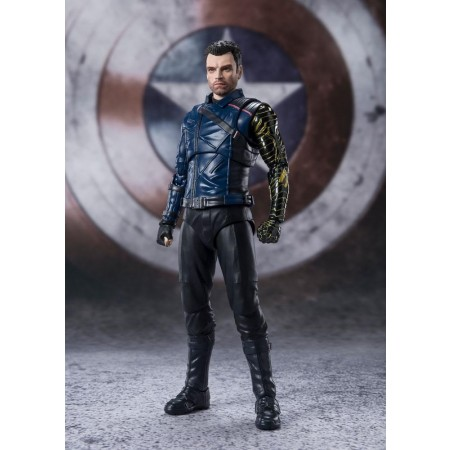 The Falcon and the Winter Soldier S.H. Figuarts Bucky Barnes Action Figure