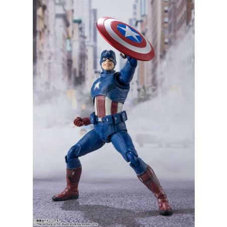 Avengers S.H. Figuarts Action Figure Captain America (Avengers Assemble Edition)