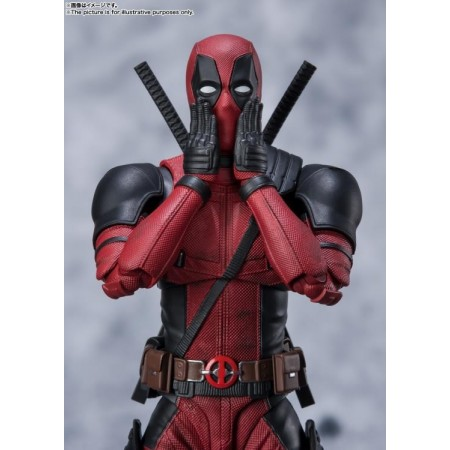 Figura de acción de S.H. Figuarts Deadpool (versión de la película de 2016)