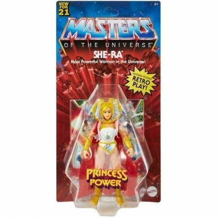 Masters of the Universe Origins She-Ra Action Figure ( USA Packaging and Mini Comic )