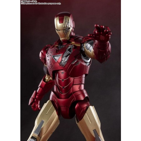 Avengers S.H. Figuarts Action Figure Iron Man Mark 6 (Battle of New York Edition)
