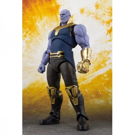 S.H Figuarts Avengers Infinity War Thanos Action Figure