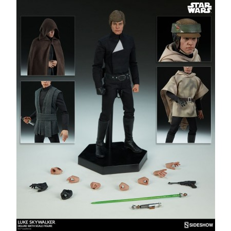 Sideshow Star Wars Luke Skywalker Deluxe Sixth Scale Figure