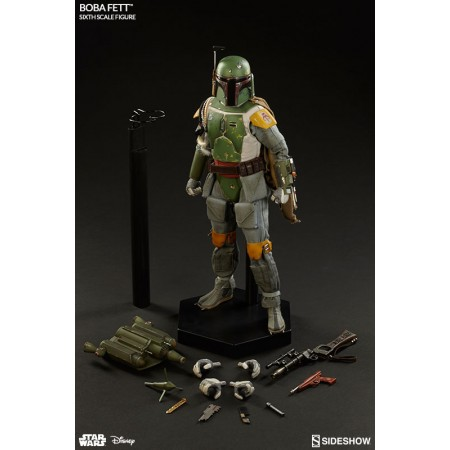 Sideshow Star Wars 1:6 Empire Strikes Back Boba Fett Figure