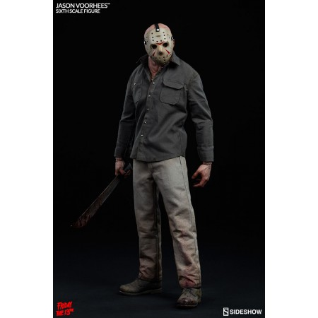Sideshow Friday The 13th III Jason Voorhees 1/6 Scale Figure