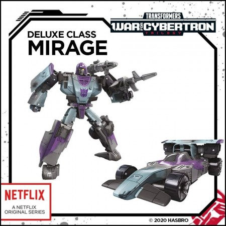 Transformers War For Cybertron Siege Decepticon Mirage Nettflix Exclusive