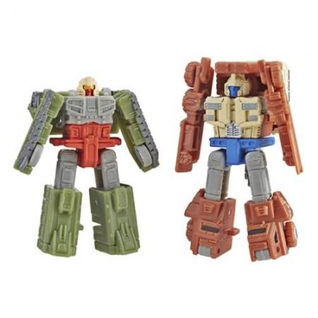 Guerra de asedio de transformadores para Cybertron Micromaster Autobot batalla patrulla