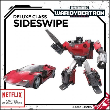 Transformers War For Cybertron Siege Sideswipe Netflix Exclusive