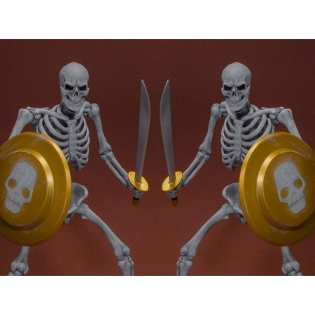 Storm Collectibles Golden Axe Skeleton 1/12 Escala Acción Figura 2 Pack
