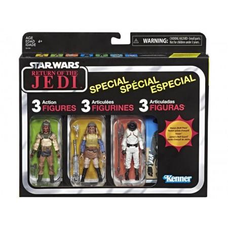 Paquete de tres de Star Wars The Vintage Collection Skiff Guard
