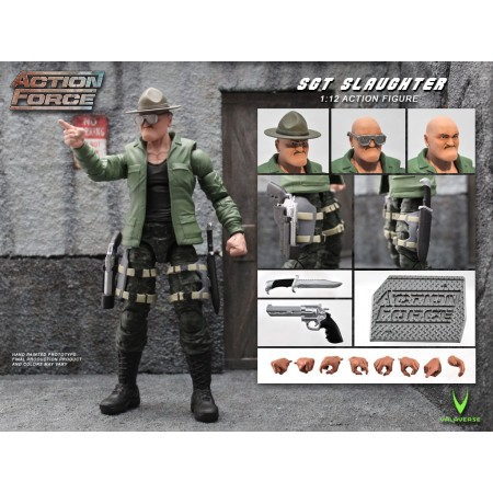 Action Force Sgt Slaughter Action Figure