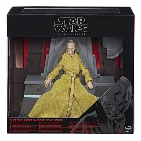 Star Wars Black Series Supreme Leader Snoke Throne Room Exclusive