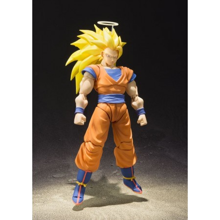 Dragon Ball Z S.H. Figuarts Super Saiyan 3 Son Goku Action Figure