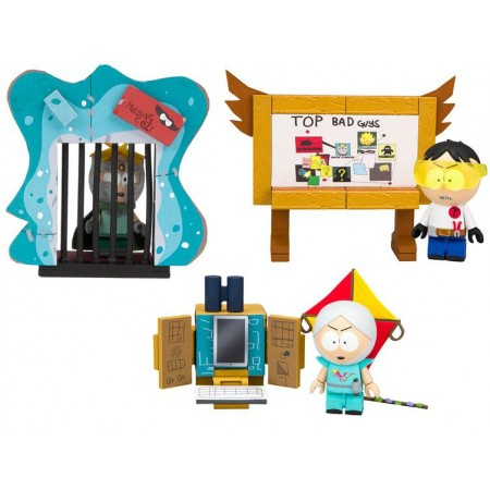 South Park Micro Construction Set - Set of 3