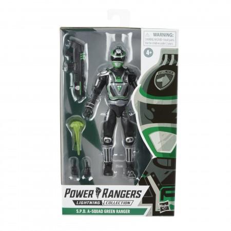 Power Rangers Lightning Collection S.P.D Green Ranger Action Figure
