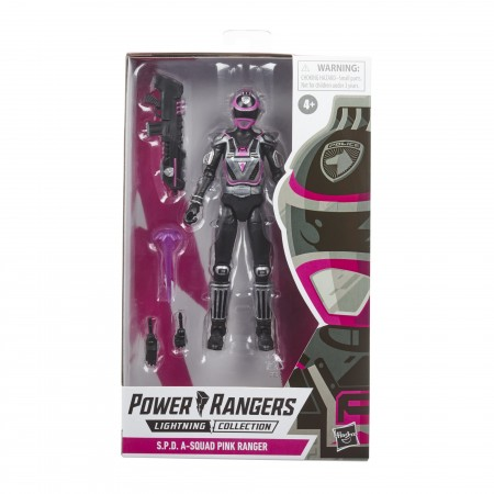 Power Rangers Lightning Collection S.P.D A-Squad Pink Ranger Action Figure