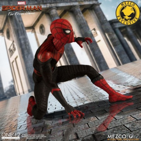 Mezco One:12 Collective Spider-Man Far From Home Deluxe Edition