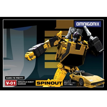 Omnigonix OX-01 Spinout ( Sunstreaker )