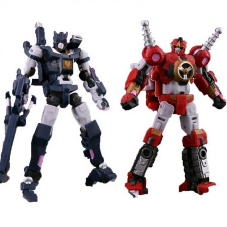 Iron Factory IF-EX32 & IF-EX33 Phecda & Mizar Spirits Of The D.E.C