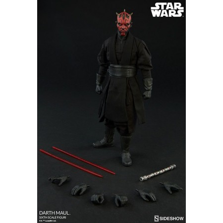 Sideshow Star Wars Episode 1 Darth Maul Duel on Naboo 1/6 Figure