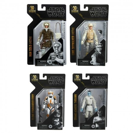 Star Wars The Archive Collection Wave 3 Set of 4