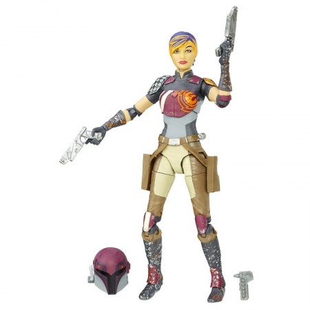 Star Wars Black Series Sabine Wren 6 Inch Figure