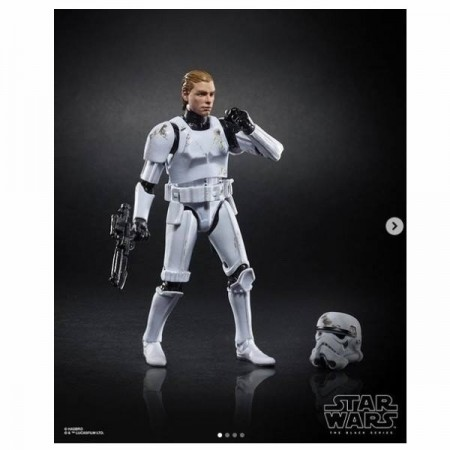 Star Wars Black Series Luke Skywalker Death Star Escape Exclusive