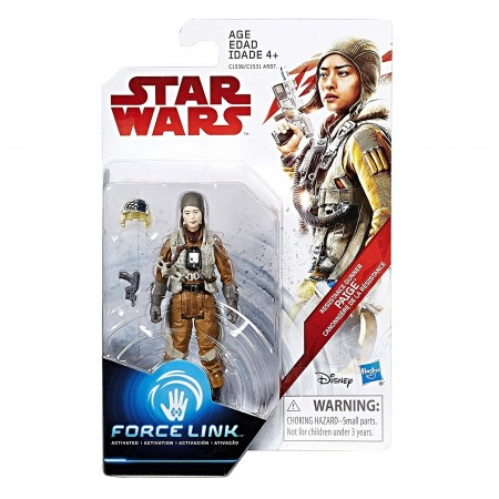 Star Wars Force Link 3.75 Inch Resistance Gunner Paige ( The Last Jedi )