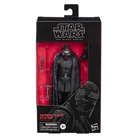 Star Wars Black Series Rise Of Skywalker Supreme Leader Kylo Ren