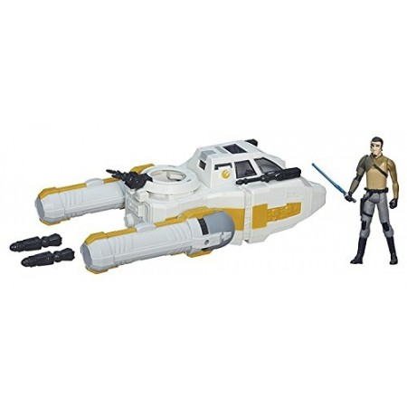 Star Wars Rebels Y-Wing Scout Bomber & Kannan Jarrus