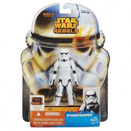Star Wars Saga Rebels Stormtrooper 3.75 Inch Figure