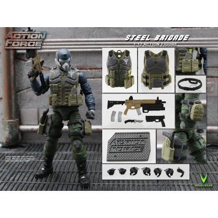 Action Force Steel Brigade Action Figure