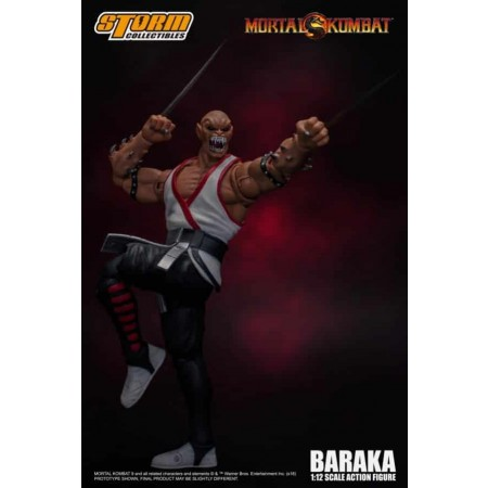 Storm Collectibles Mortal Kombat Baraka 1:12 Action Figure